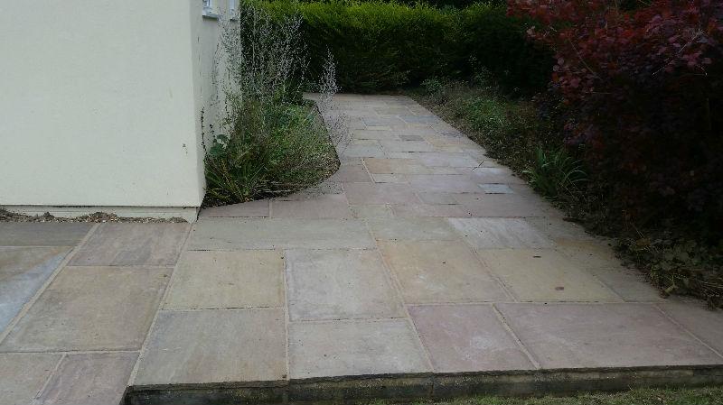After Patio Renovation in Saffron Walden