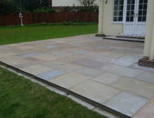 Patio Renovation: Saffron Walden, Essex